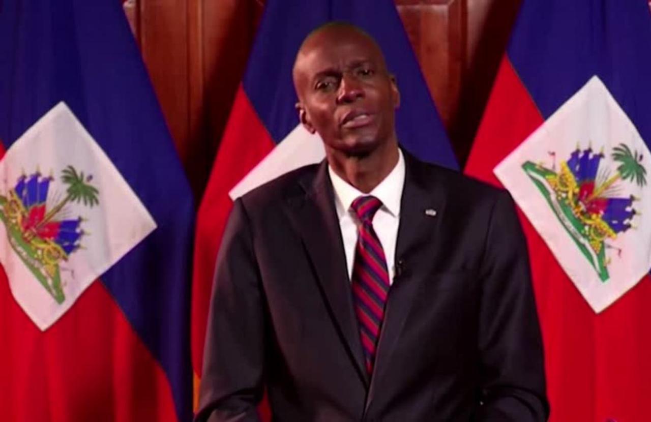 Haitian president shot dead at home overnight