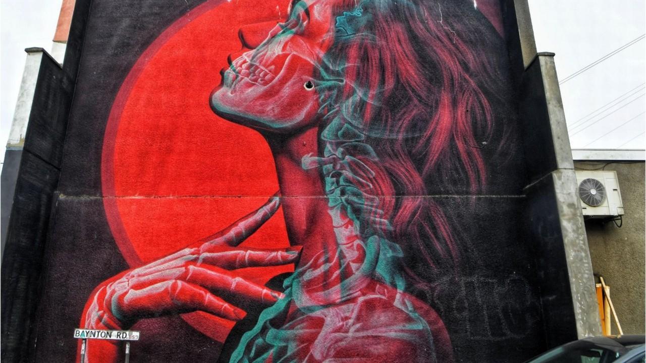 BigCityLife- Greta Thunberg mural painted over
