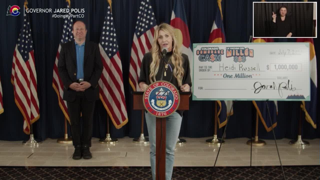 Gov. Polis announces last $1 million winner of Colorado Comeback Cash COVID-19 vaccine program and the final round of scholarshi