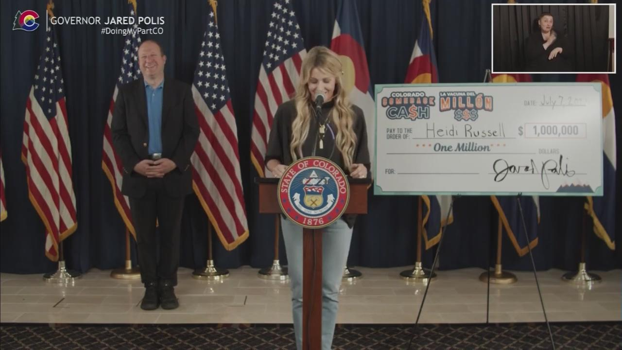 Heidi Russell Named As Fifth $1 Million Winner In Colorado Comeback Cash Giveaway