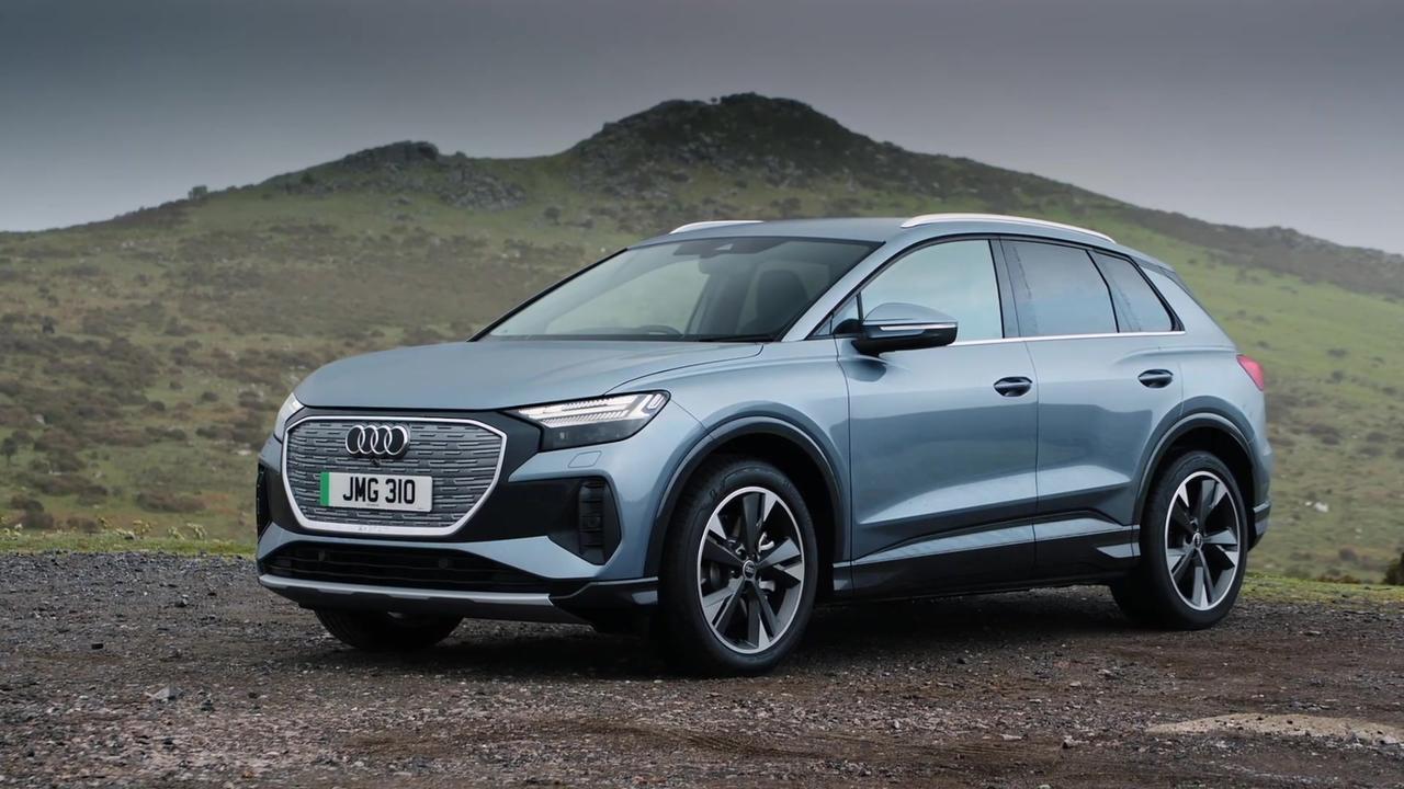 The new Audi Q4 e-tron Design in England