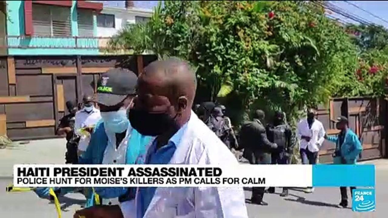 Haiti president assassinated : Prime minister Claude Joseph calls for calm