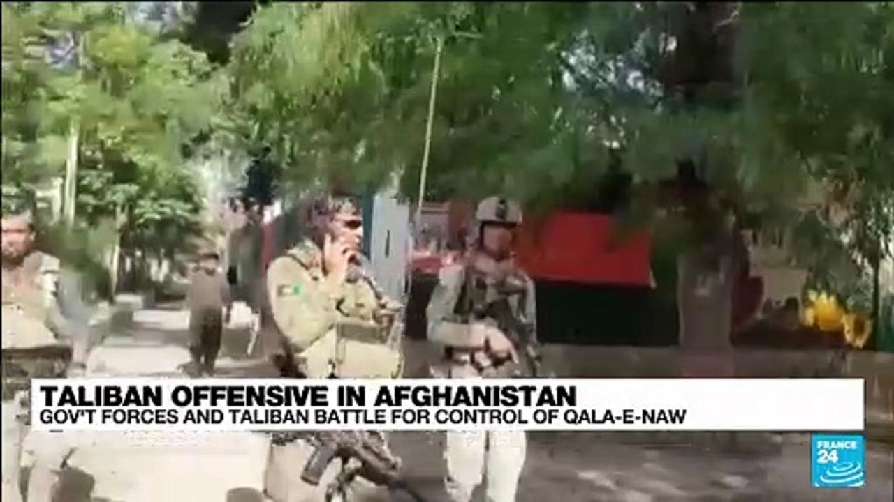 'Taliban pushed out of the city' by gov't forces after offensive in Afghanistan