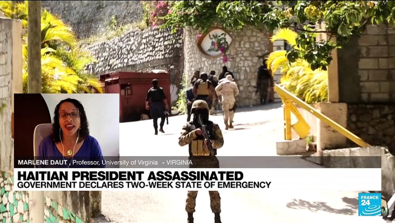 'Alleged assassins' of Haitian president in custody as uncertainty grows