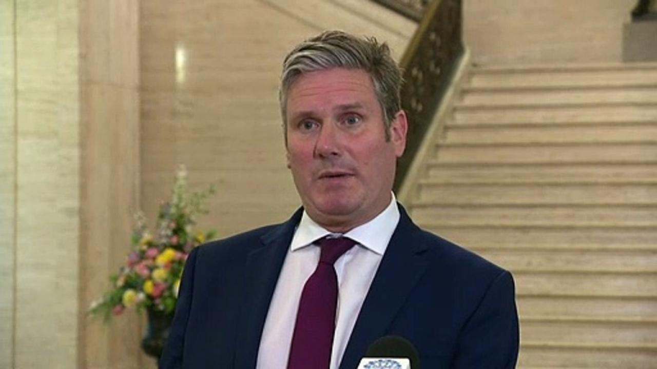 Starmer says Northern Ireland has lost trust in PM