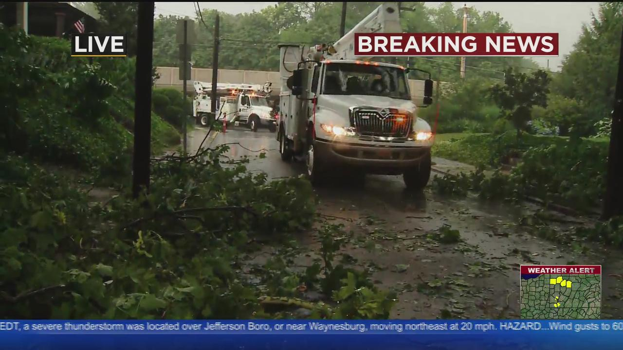 Edgewood Borough Declared State Of Emergency After Storms