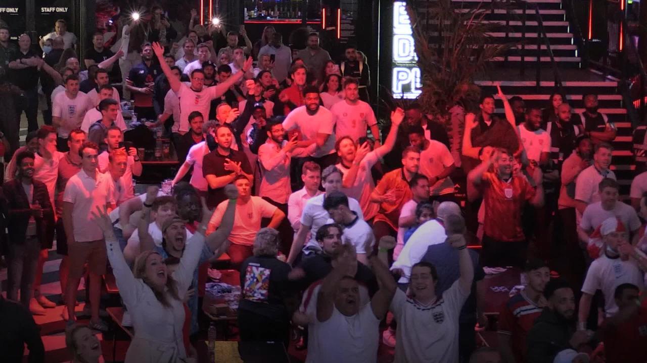 Fans on cloud nine as England reach Euro 2020 final