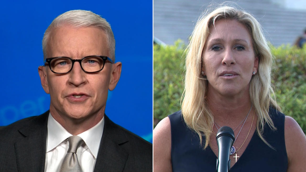 Anderson Cooper: Marjorie Taylor Greene is at it again