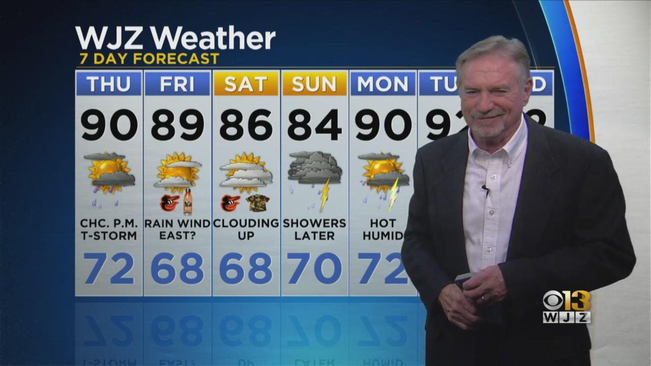 Bob Turk Has A Look At Your Evening Forecast