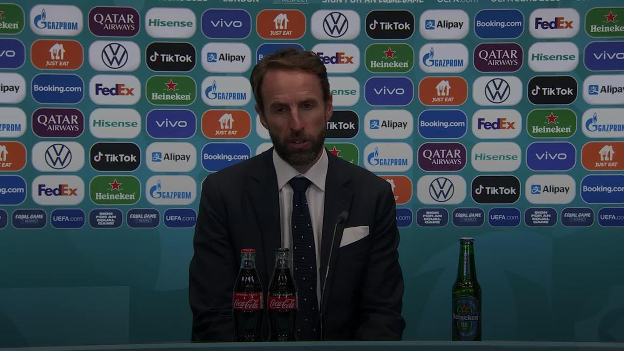 Gareth Southgate speaks of 'special' Euro 2020 semi-final win