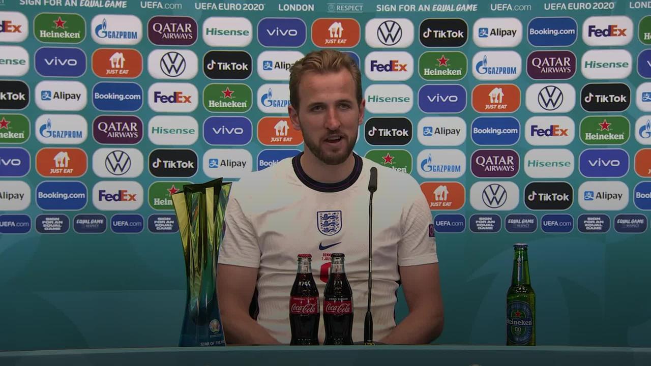 Harry Kane looks ahead to Euro final