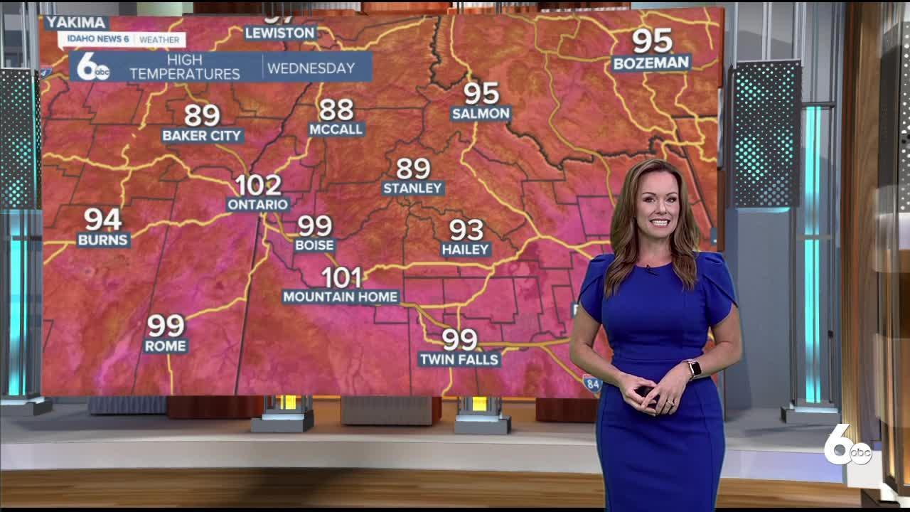 Rachel Garceau's Idaho News 6 forecast 7/8/21