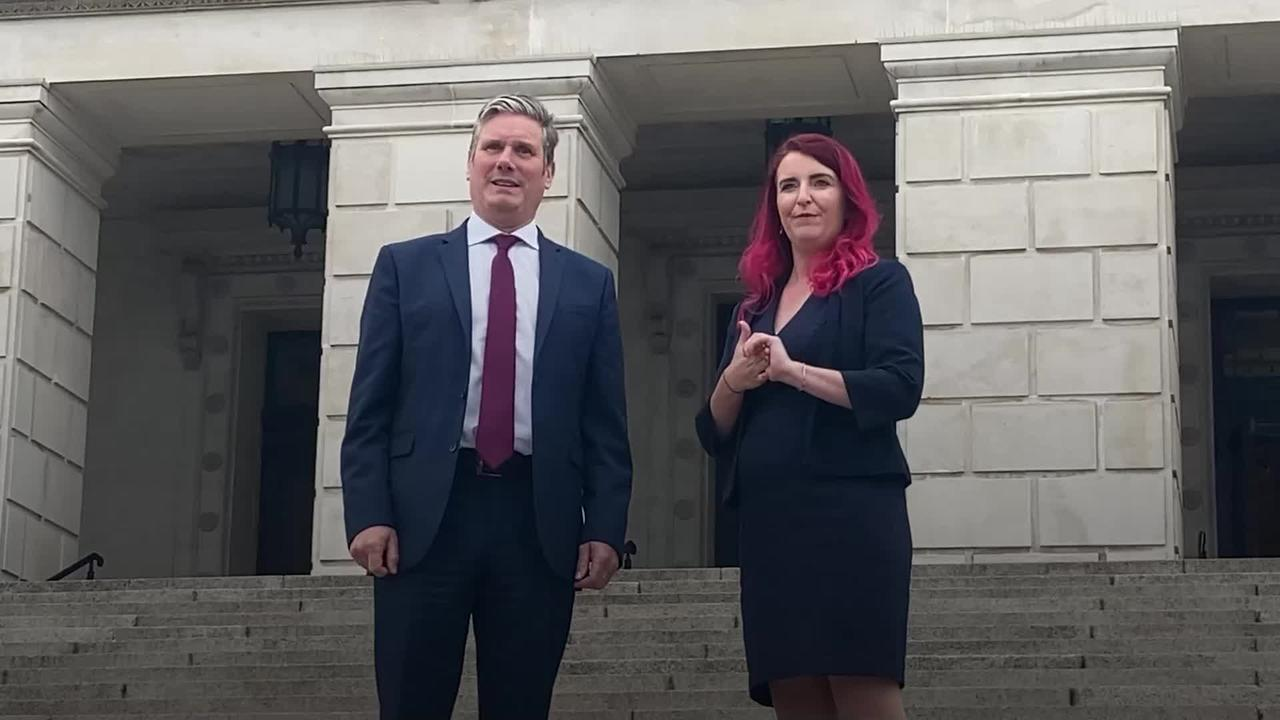 Starmer hears NI parties' concerns about implementation of Brexit