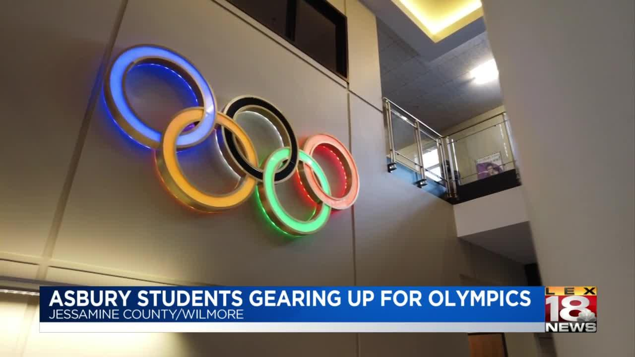 Asbury students gearing up for Olymics
