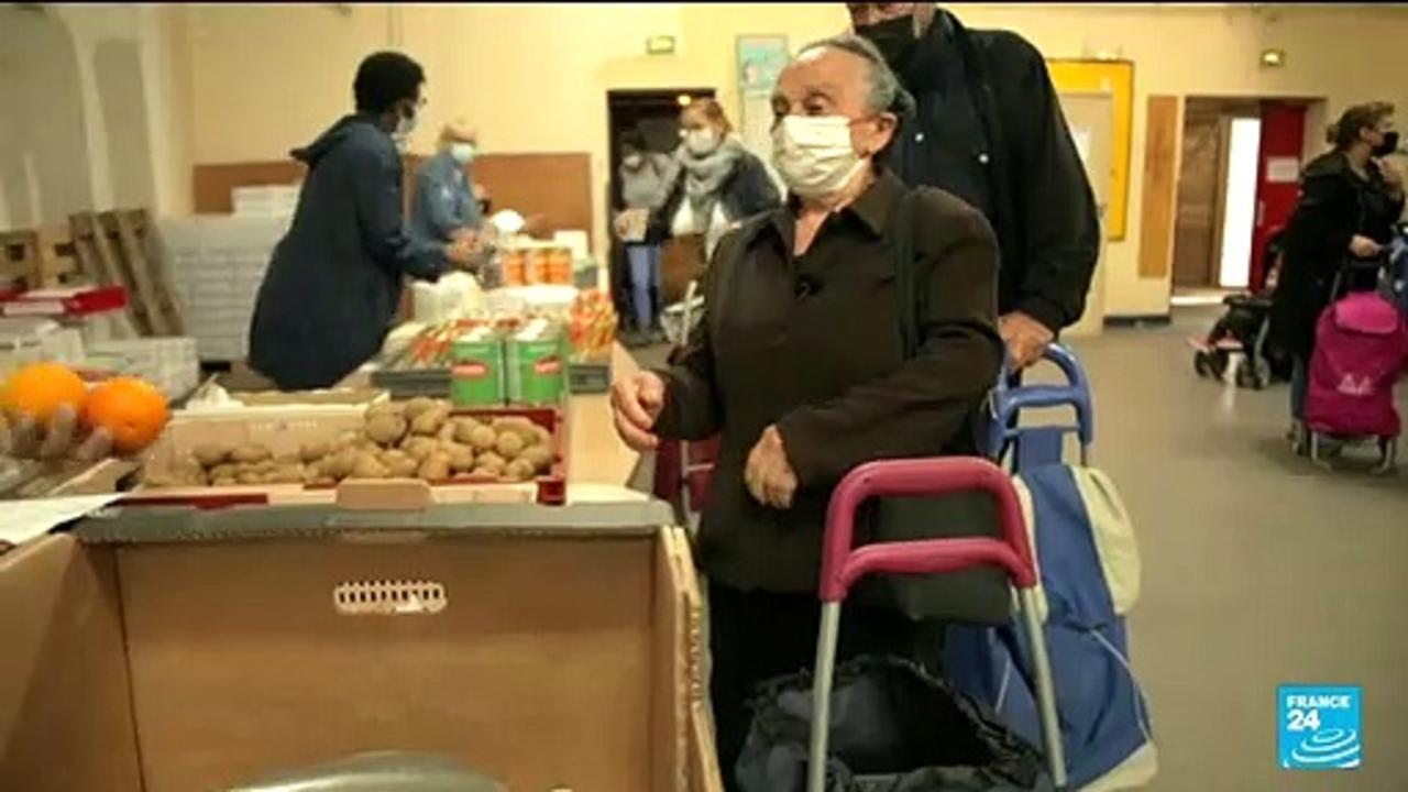 Facing Covid, One year later: Luz, precarious cleaning lady, still depends on food aid