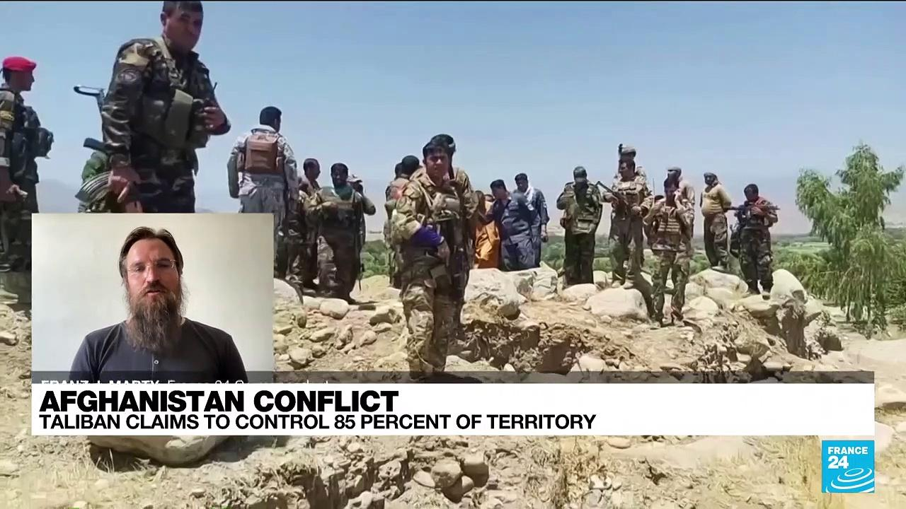 Taliban claims to control 85% of Afghanistan's territory