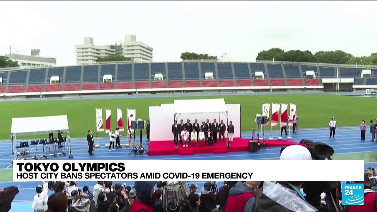 Tokyo Olympics' host city bans spectators amid Covid-19 emergency
