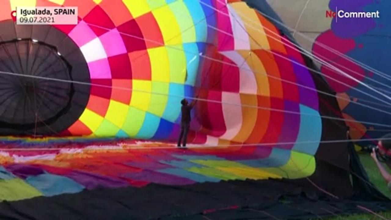 Spain hosts European Balloon Festival