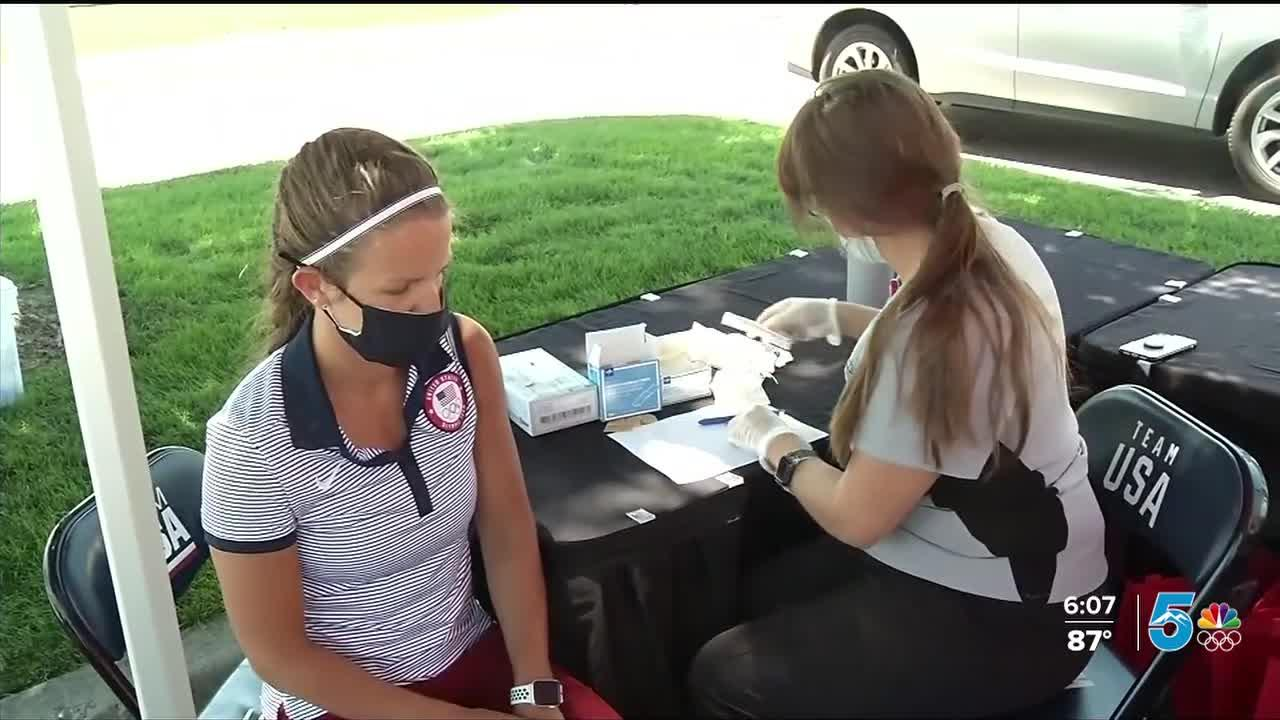 US Olympic Delegation getting vaccinated for protection against more than COVID