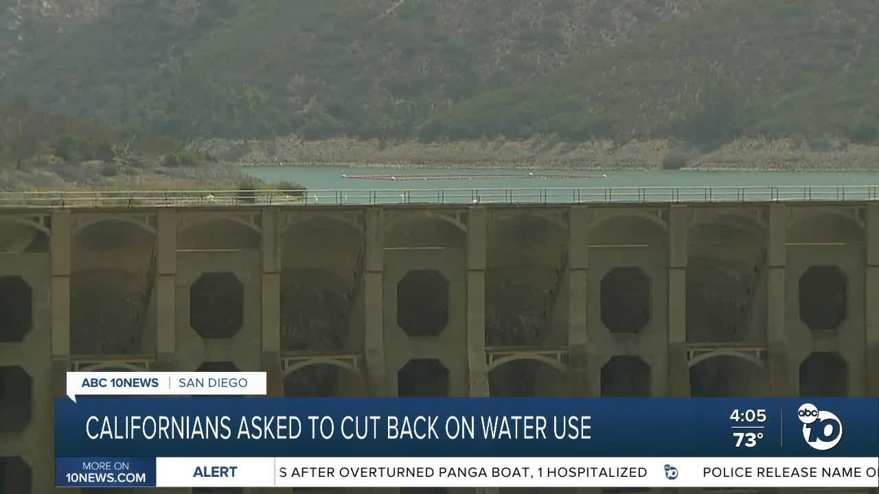 Californians asked to cut back water use