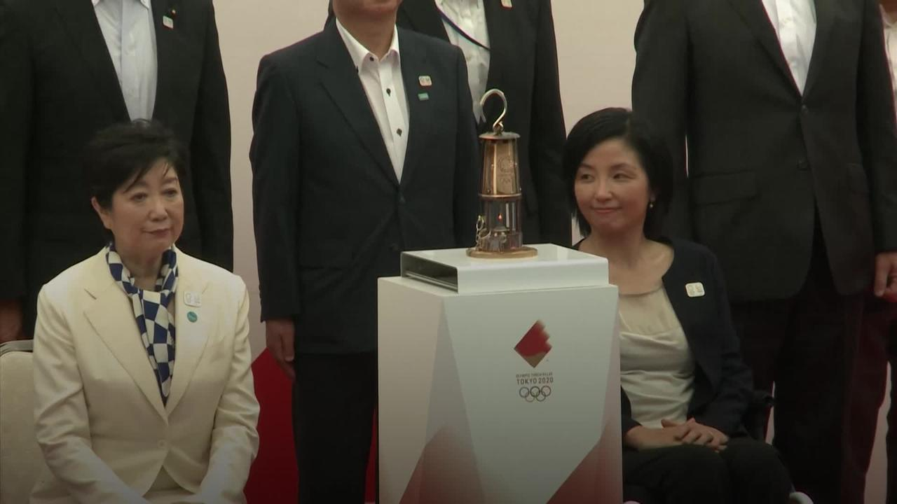 Olympic flame arrives in Tokyo