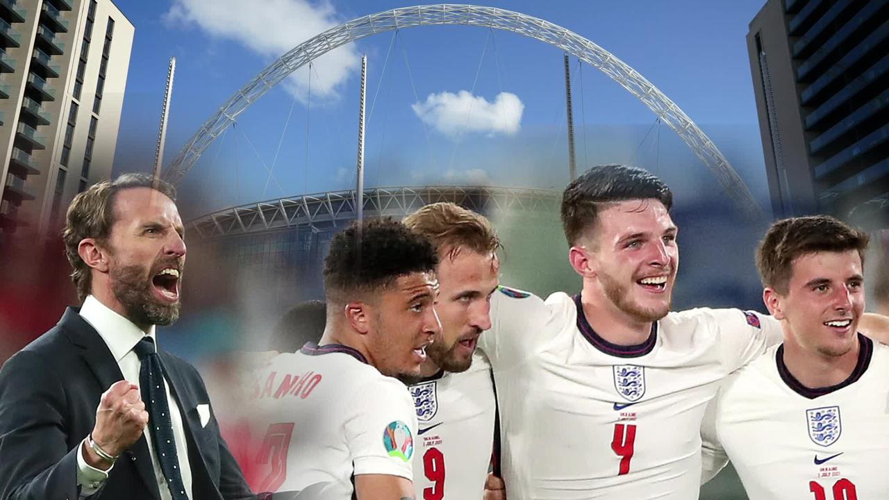 How England made the Euro 2020 final