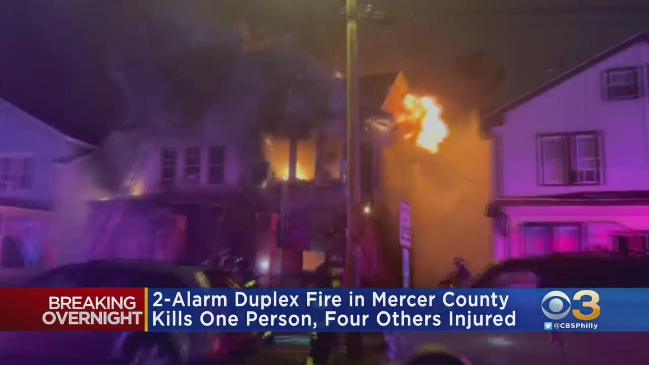 Two-Alarm Fire In Mercer County