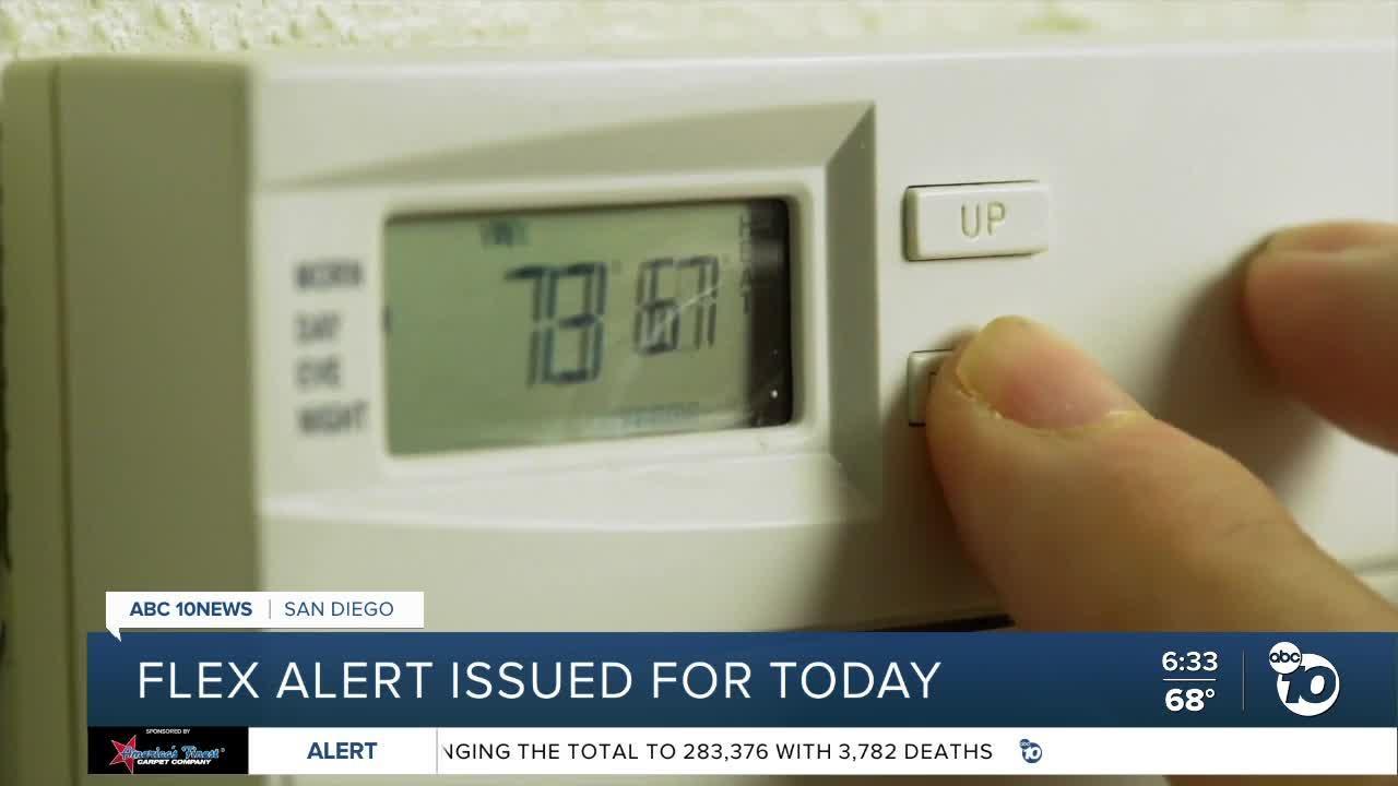 Flex Alert to take effect Friday across California