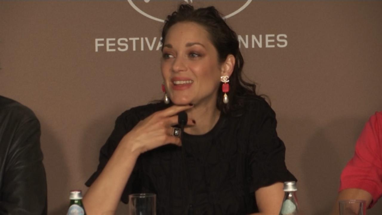 Marion Cotillard Teases New Musical 'Annette' In Cannes