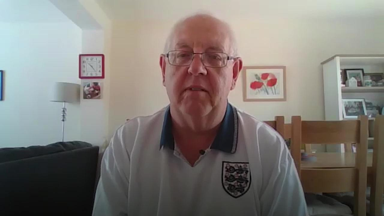 Fan who saw 1966 England World Cup win 'privileged' to be back at Wembley