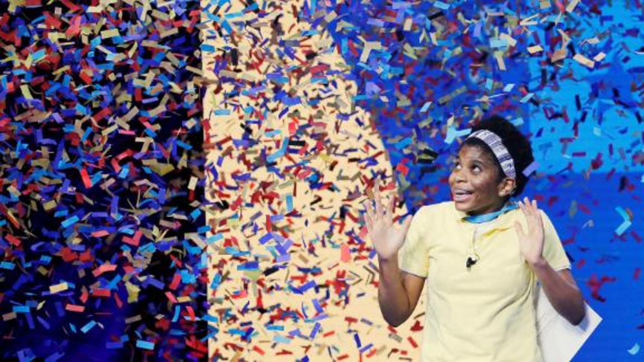 14-year-old wins spelling bee after only 2 years of practice