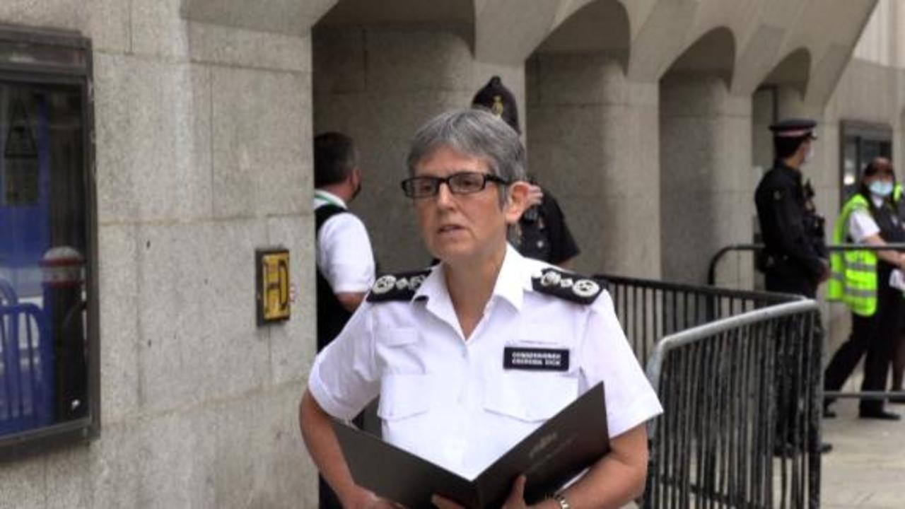 Police commissioner 'sickened' after guilty plea in Sarah Everard's murder
