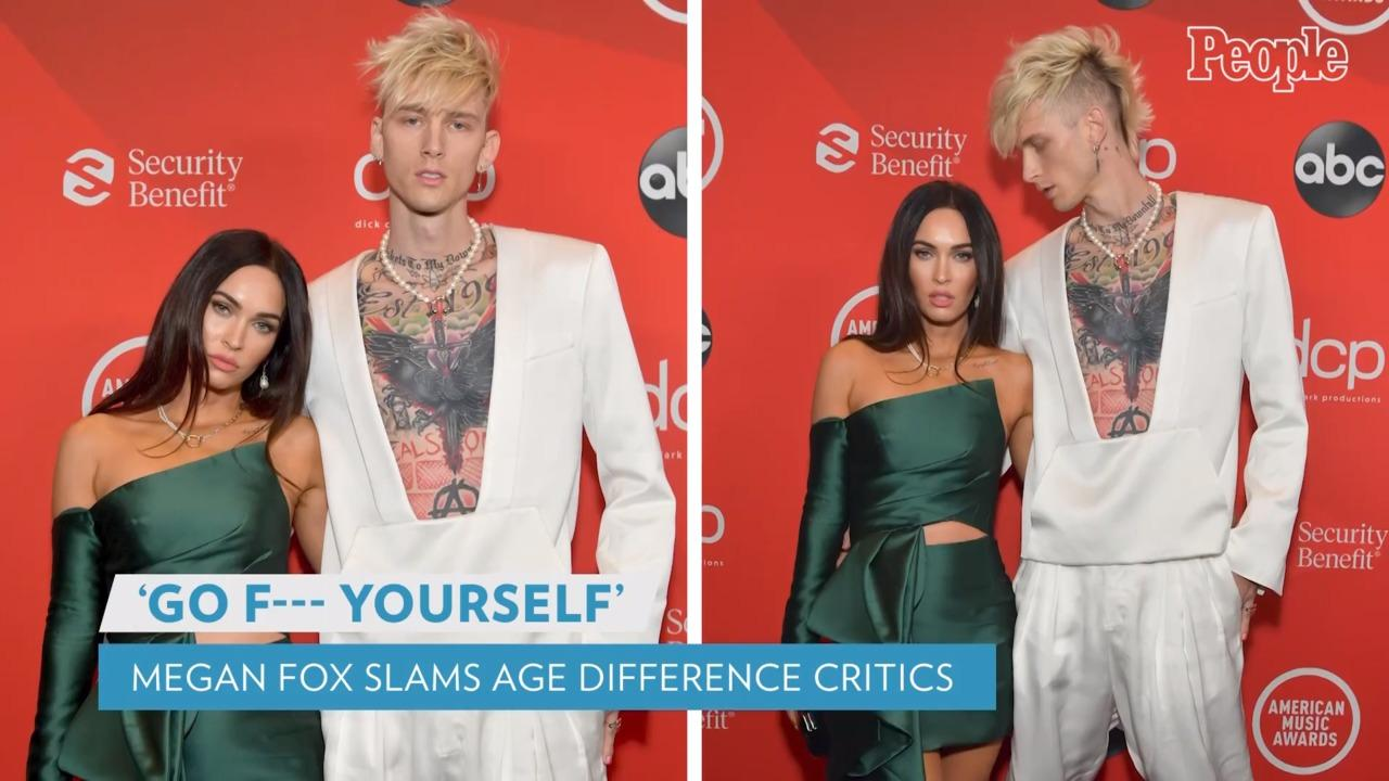 Megan Fox Slams 'Patriarchy' and 'Ridiculous' Comments About 4-Year Age Gap with Machine Gun Kelly