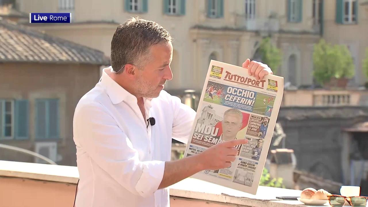 Italian papers send message to referee!
