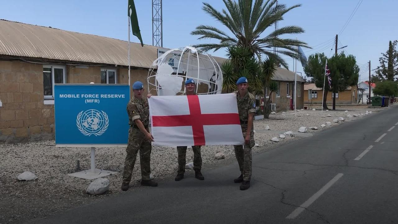 Armed Forces voice their support for England ahead of Euro 2020 final