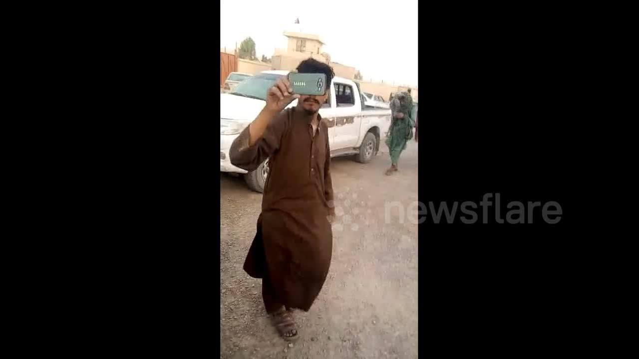 Afghan Taliban take control of Chakhansur, Nimruz, seizing US military vehicles
