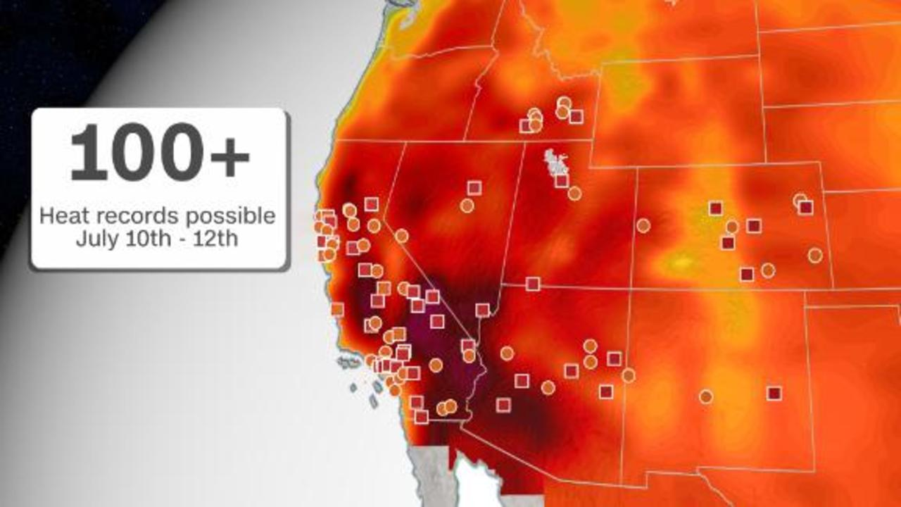 Over 30 million under heat alerts in the West this weekend