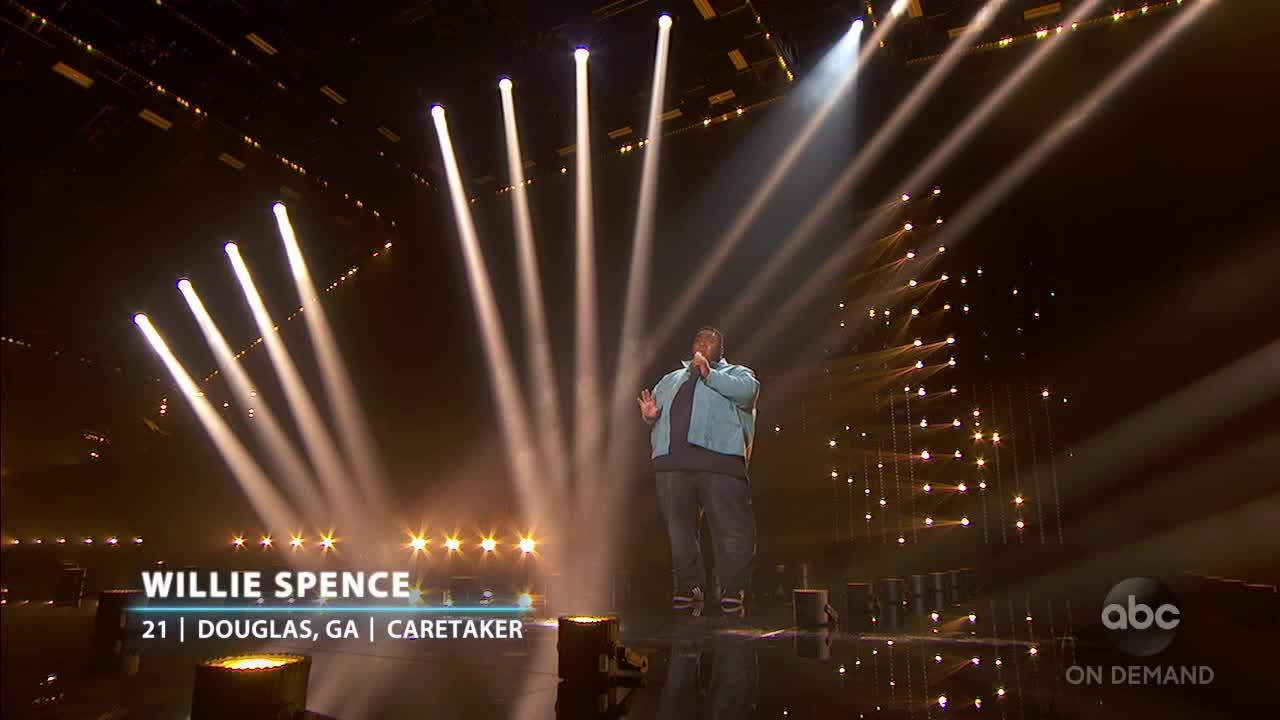 Wille Spence's Coldplay Songbook Performance  – American Idol 2021