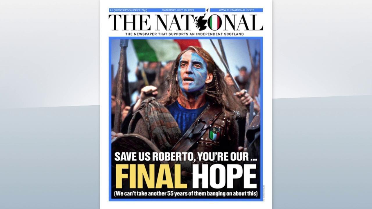 Scottish paper: Save us Roberto!