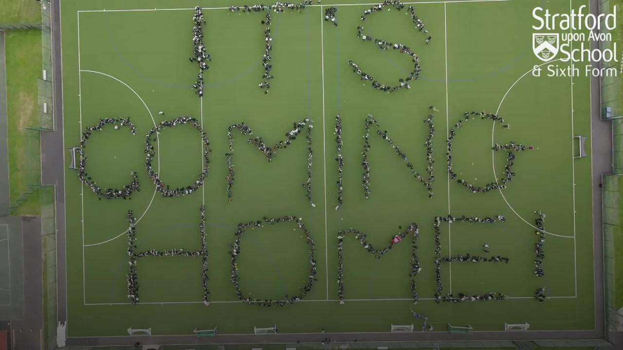 The nation unites behind England ahead of Euro final