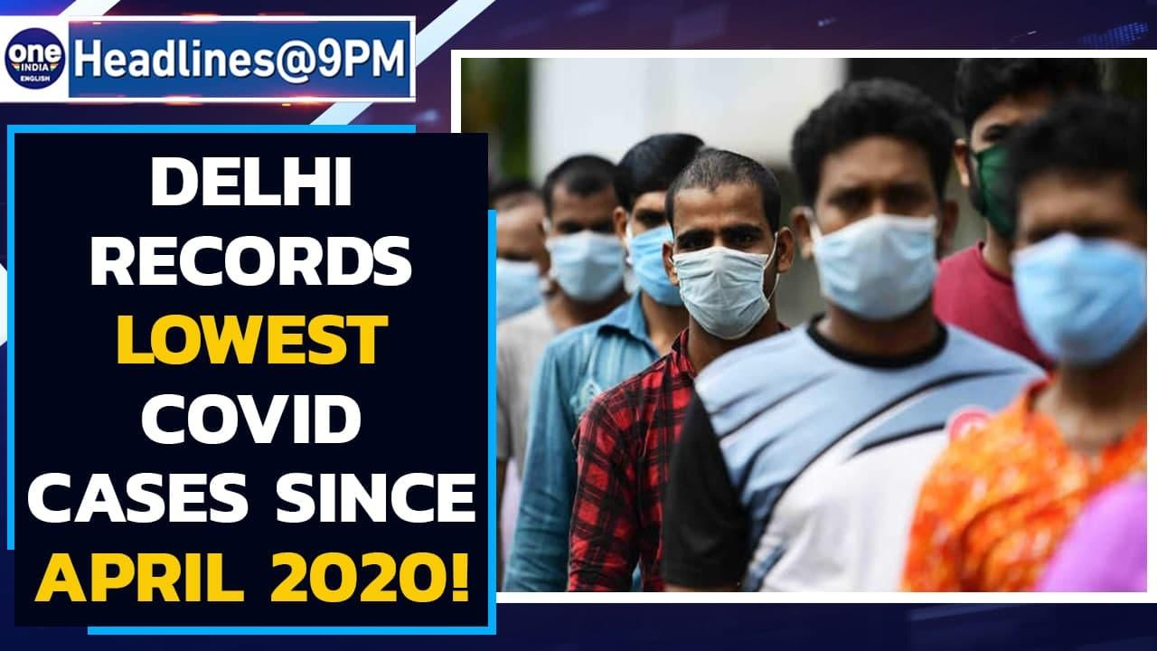 Delhi records lowest Covid cases since April 15, 2020 | Rahul Gandhi on vaccines | Oneindia News
