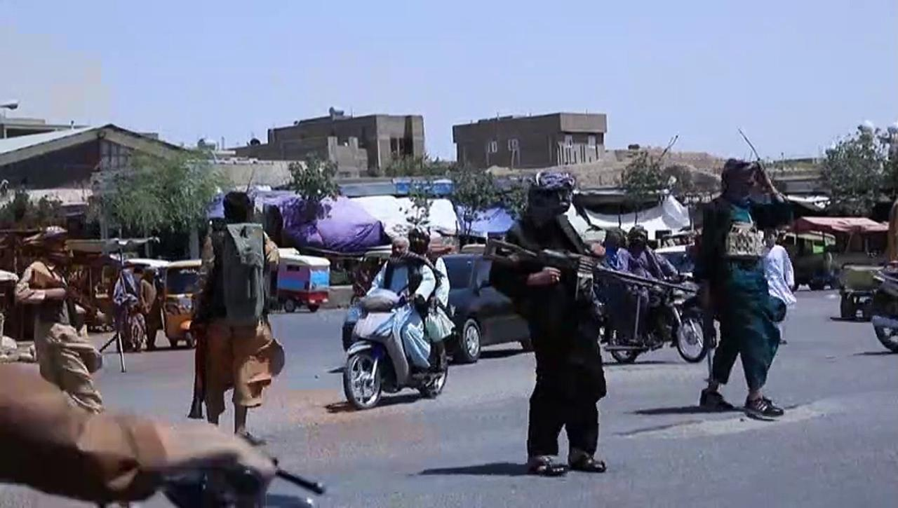 Anti-Taliban militia deploy in Herat after insurgents seize districts