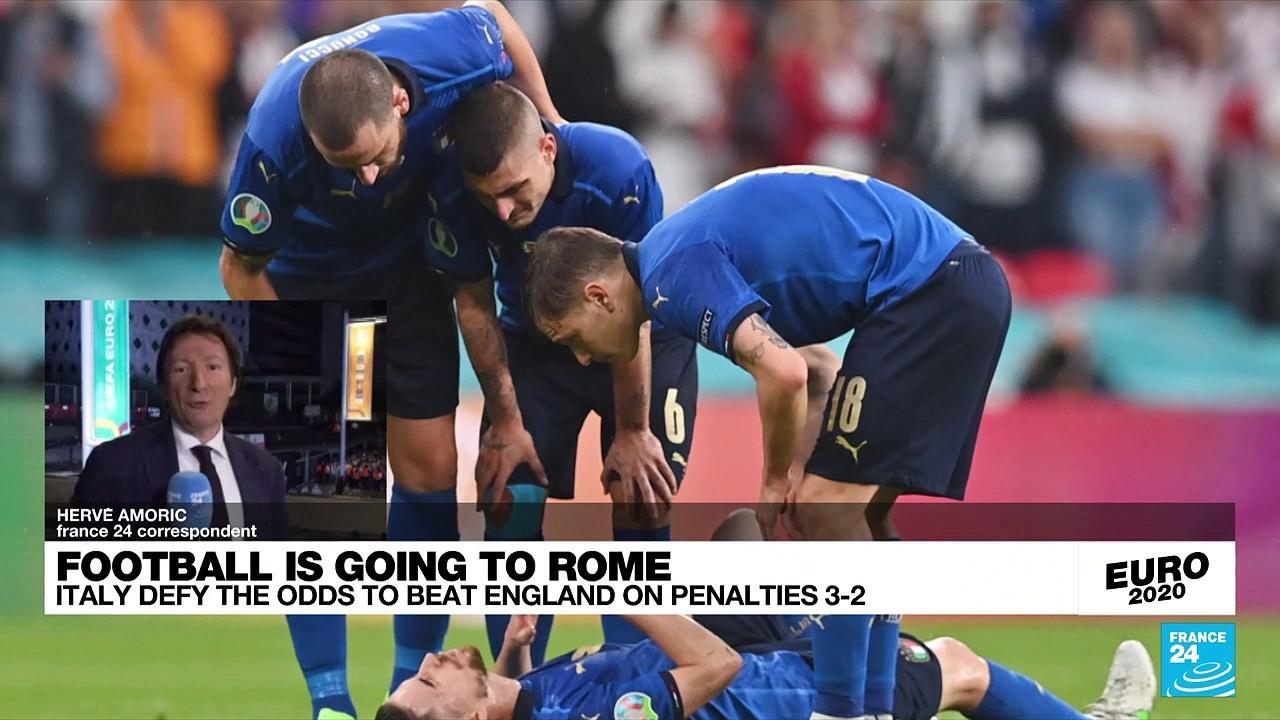 Italy beat England on penalties to win Euro 2021