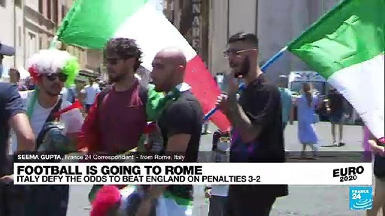 Football is going to Rome: Italy win Euro 2020 final on penalties