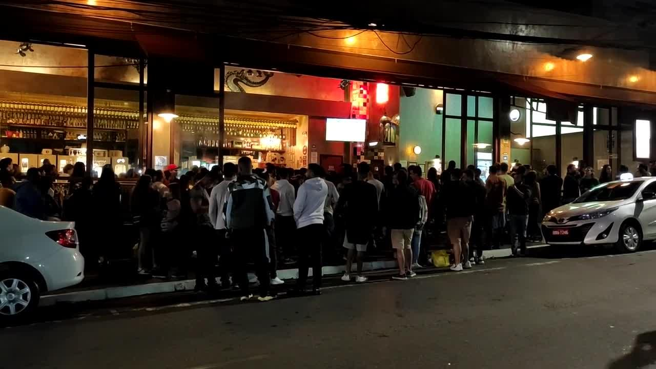 Sao Paulo flexible about Covid rules as bars packed for Copa America final