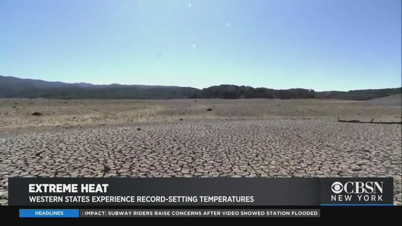 Western States Experience Record-Setting Temperatures