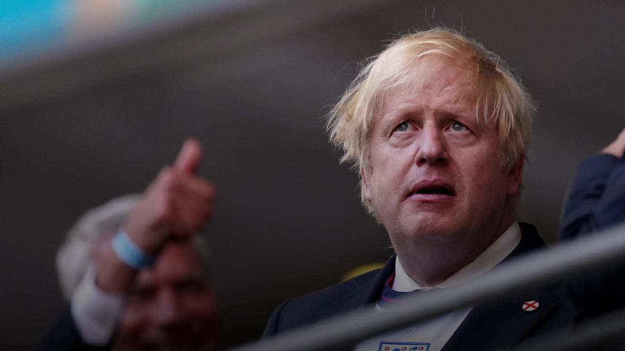 Boris Johnson sends message to England team ahead of Euro 2020 final