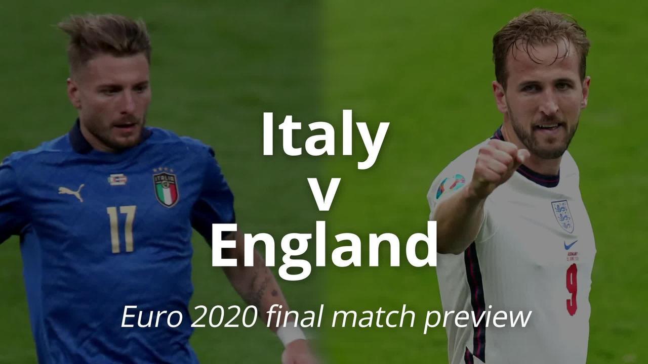 Euro 2020 final match preview: England v Italy