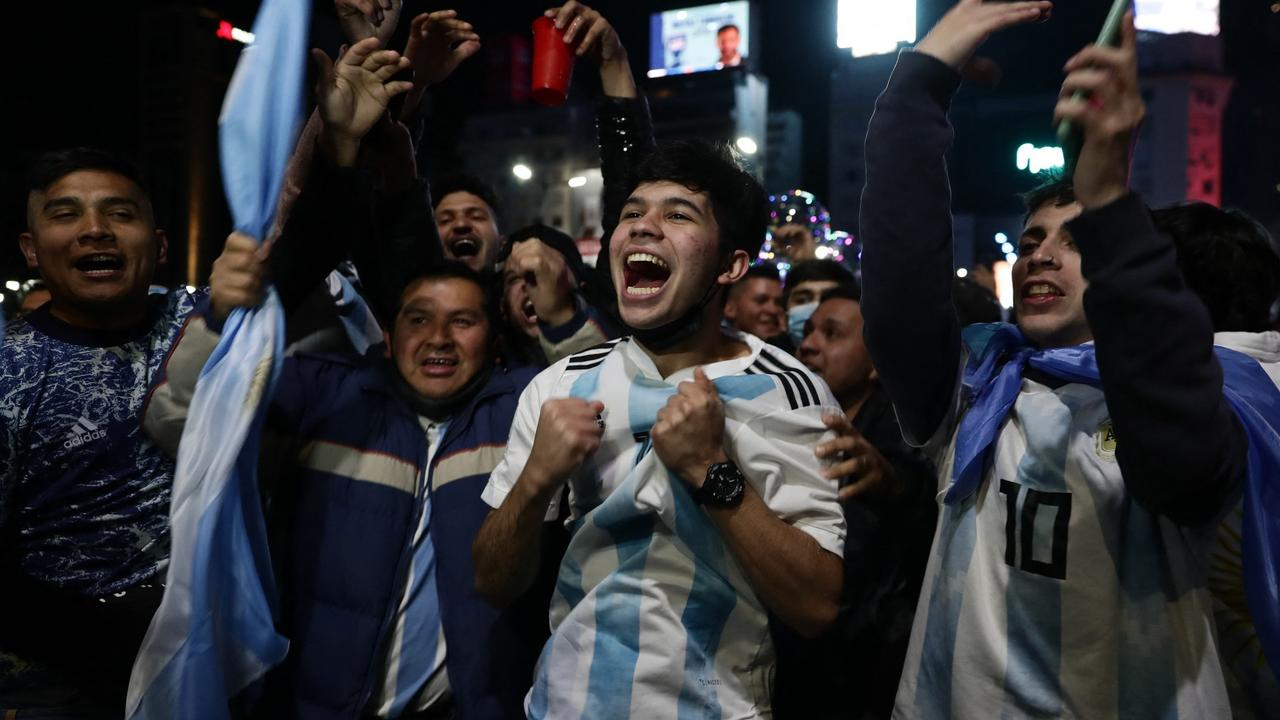 Celebrations in Buenos Aires as Argentina claim Copa America title