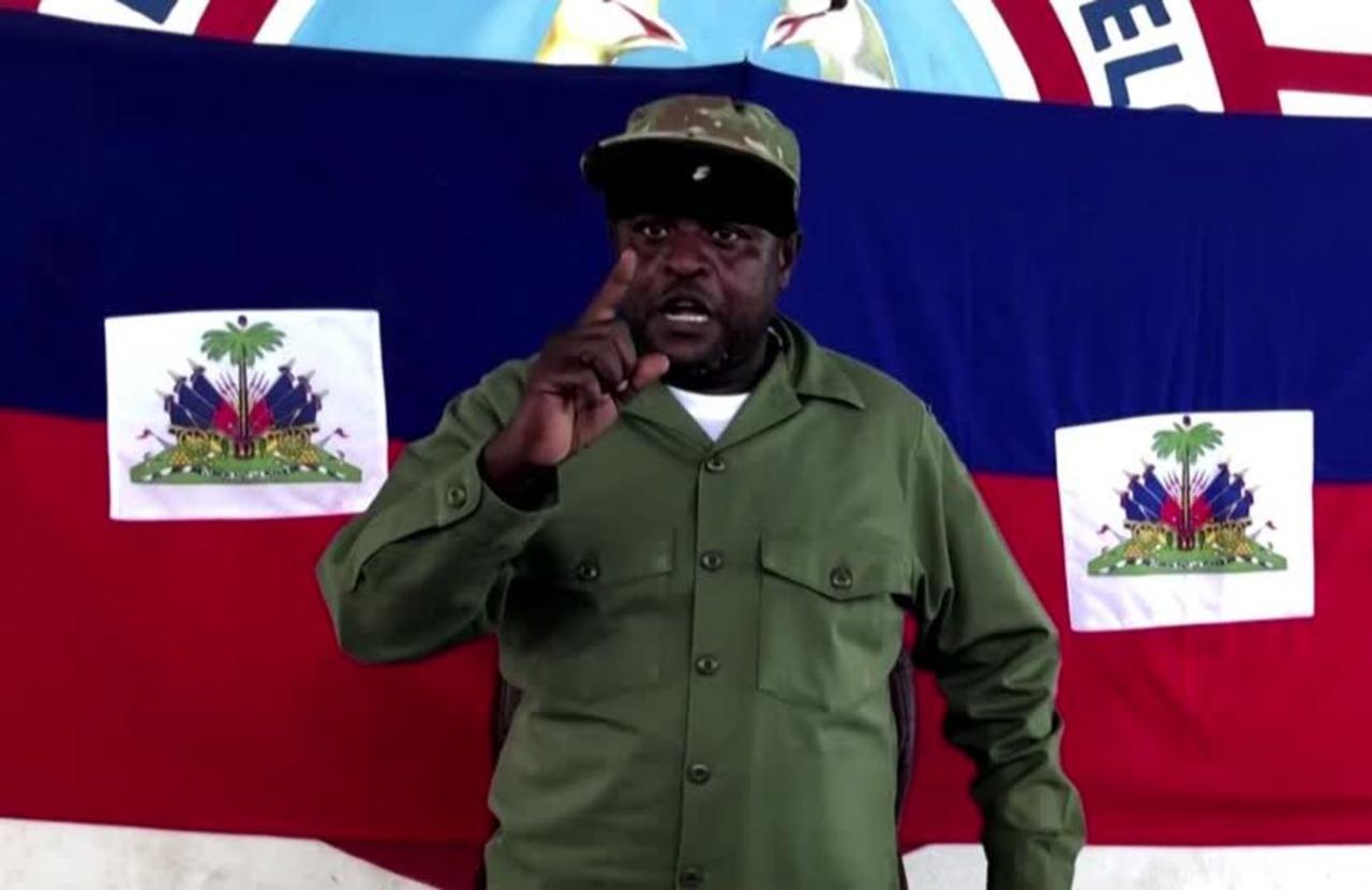 Powerful gang boss wades into Haiti turmoil